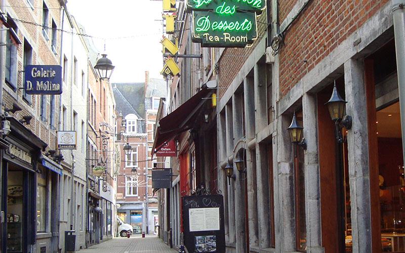 Rue commerçante