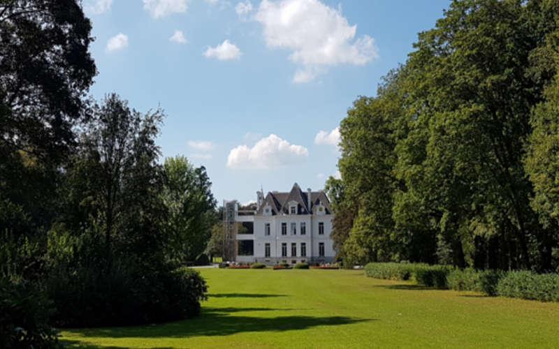 Domaine Chateau du domaine provincial de Chevetogne