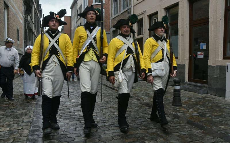 Le bataillon des Canaris Namur