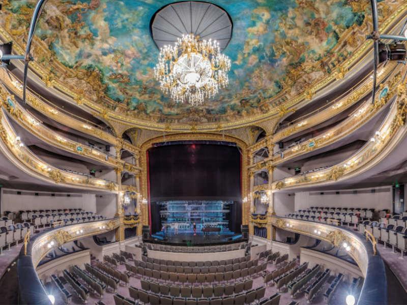 Intérieur du théâtre de Namur