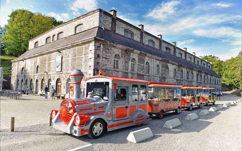 Le train touristique de la Citadelle de Namur
