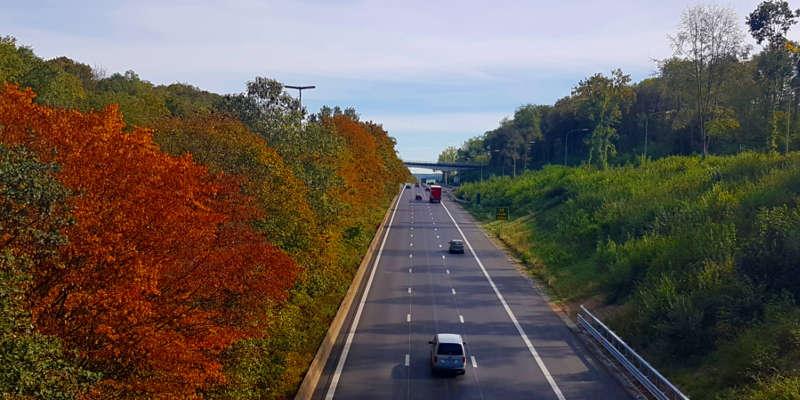 Het snelwegnetwerk
