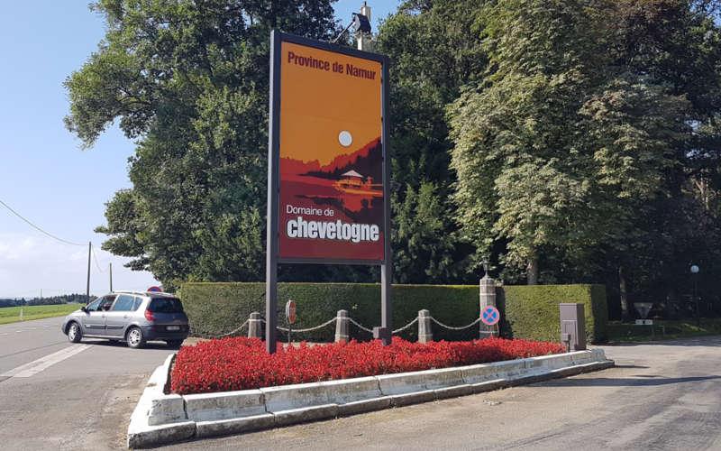 Het provinciaal domein van Chevetogne