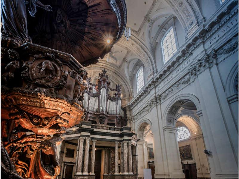 kathedraal Saint-Aubain van Namen