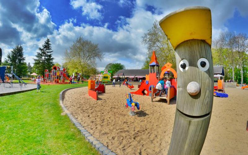 Het recreatiepark Reine Fabiola