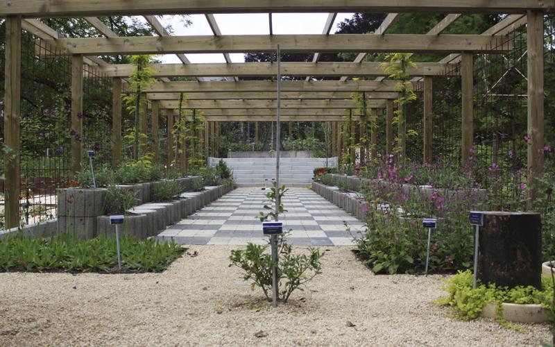 Le jardin Jean Chalon, dit le jardin des symboles