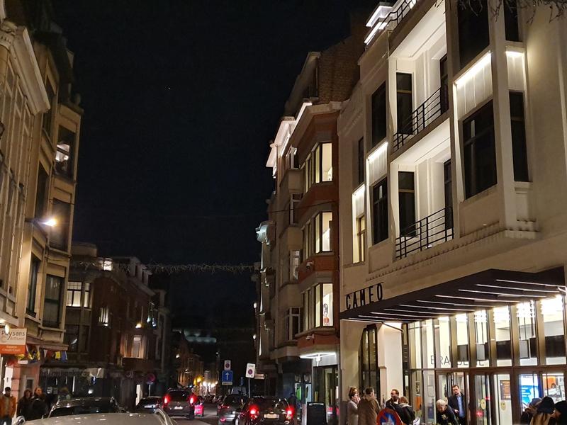 Éclairages de la rue des Carmes
